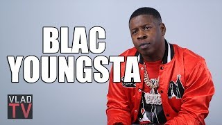 Blac Youngsta Clarifies His Reasoning for Being on a Cross in Honor of 2Pac (Part 2)