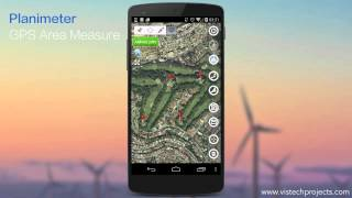 planimeter gps area measure add notes to your map measurements in new notes mode
