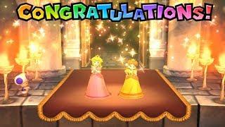 Mario Party 9 Boss Rush - Peach & Daisy Win Yoshi, Birdo | Cartoons Mee