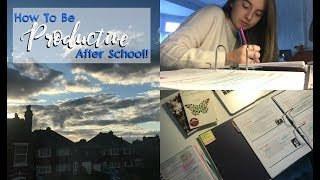 One of Revision With Eve's most viewed videos: HOW TO BE PRODUCTIVE AFTER SCHOOL! | Eve