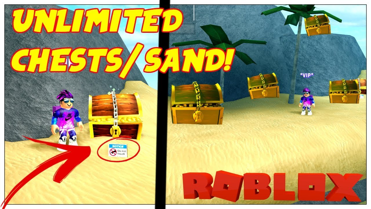 UNLIMITED CHESTS AND SAND! GLITCH Roblox | Treasure Hunt Simulator .