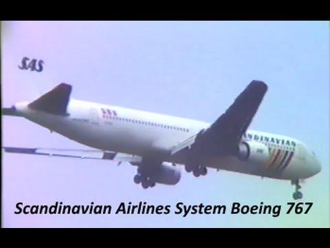 【 成田空港 ★ もう見れない系 】 SAS Scandinavian Airlines System Boeing 767 at Narita