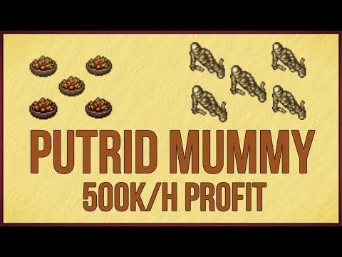 Putrid Mummy 500k/h | Tibia Profit