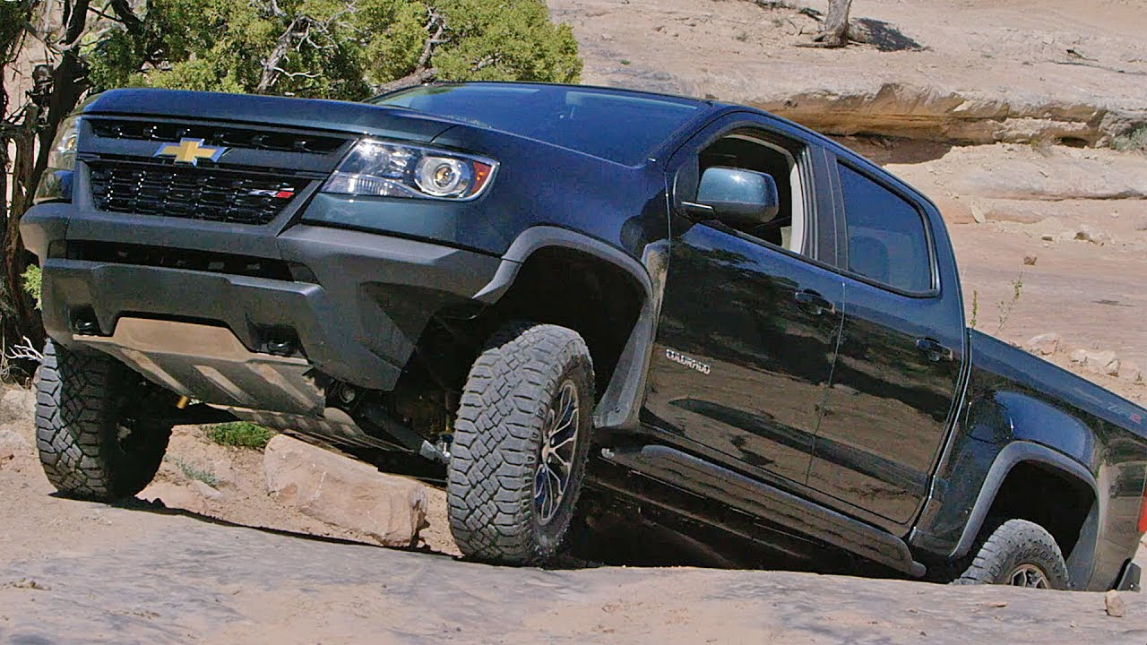 Chevrolet Colorado ZR2 (2017) Off-Road Test Drive - YouTube