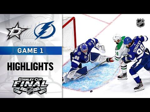 NHL Highlights | Stanley Cup Final, Gm1 Stars @ Lightning - Sept. 19, 2020