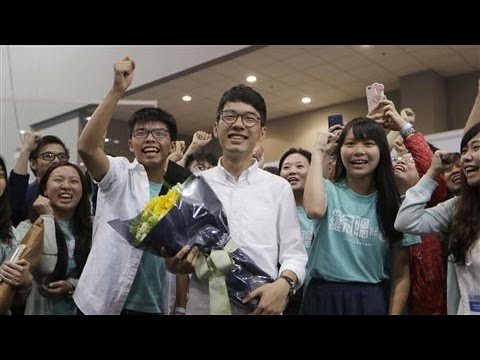 Hong Kong Student Protest Leader Wins Government Seat