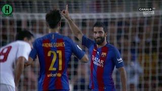 اهداف مبارة برشلونة  و إشبيلية 3-0 | كأس السوبر الإسباني 2016| التتويج |  17-8-2016