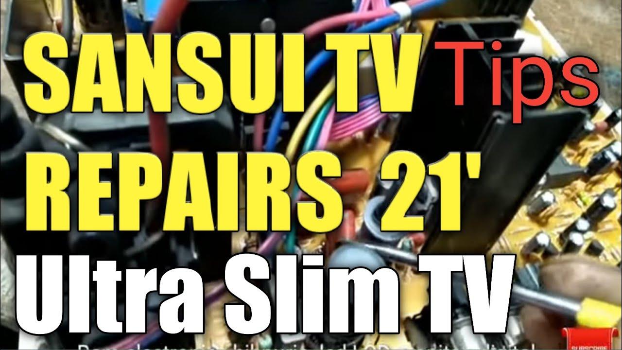 Sansui Tv Repairs 21sansui 21 Youtube Car Stereo Wiring Harness