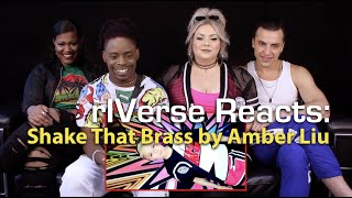 rIVerse Reacts: Shake That Brass by Amber Liu - M/V Reaction