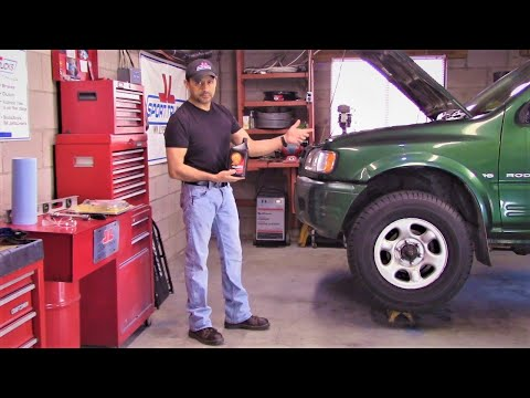 How to check Automatic Transmission fluid level on 2000 2003 Isuzu Rodeo and 2000 Amigo