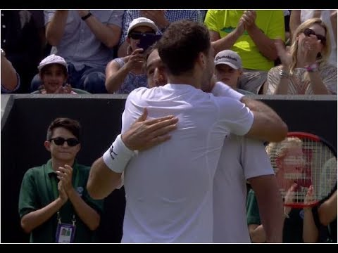 Grigor Dimitrov vs. Marcos Baghdatis 6-3, 6-2, 6-1 The Championships Wimbledon (R64) 06.07.2017.