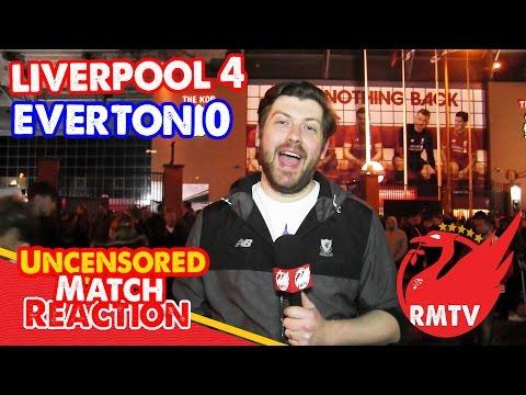 Liverpool 4-0 Everton   Origi, Sakho, Sturridge Coutinho Smash Everton   Uncensored Match Reaction