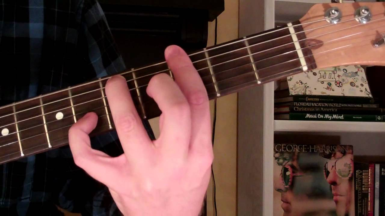 How To Play The Gm7 Chord On Guitar G Minor Seventh 7th Youtube