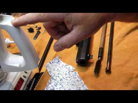 How To Clean A Black Powder Rifled Musket