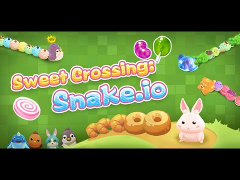 Sweet Crossing: Snake.io
