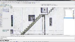 Rhinoceros 5.0 ВИДЕОУРОК делаем лестницу и перила к ней №6