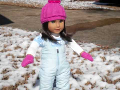 American Girl Doll Chrissa Snow Photoshoot!