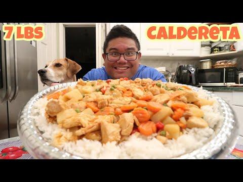MASSIVE CALDERETA FOOD CHALLENGE 7+ LBS (Home Cooking)