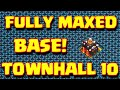 Clash Of Clans Fully Maxed Out Townhall 10 Base Attacked | Clash Of Clans Attacks