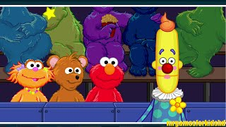 Sesame Street Elmo's Potty Time Kids Game With Baby Bear And Zoey