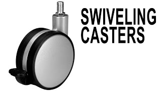 Swiveling Casters With Mount