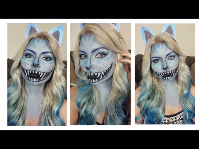 cheshire cat aliceu0027s leading feline just made its way to our roundup and weu0027re not mad about it diy this rad look with this stepbystep video tutorial
