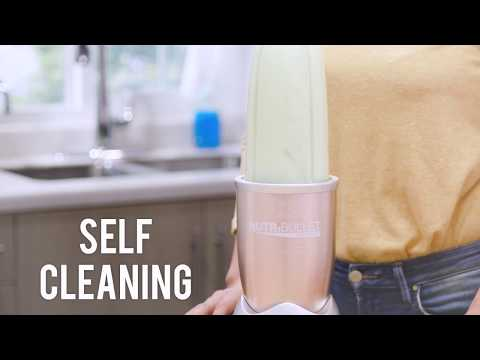 How To Clean Your NutriBullet: The Self Clean Method