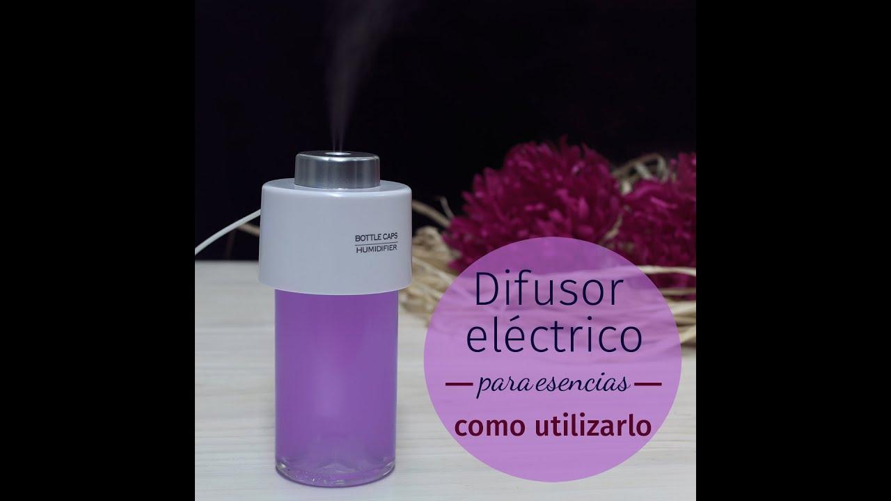 Difusor el ctrico para esencias c mo utilizarlo youtube for Perchero electrico para bano