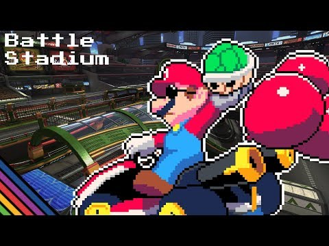 Battle Stadium 8-BIT - Mario Kart 8 Deluxe