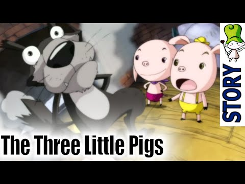 The Three Little Pigs - Bedtime Story (BedtimeStory.TV)
