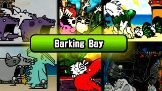 The Battle Cats - SpeedRun through Barking Bay!!
