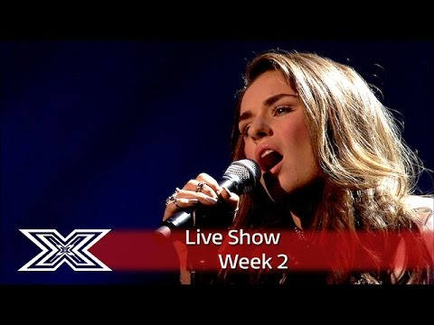 Sam Lavery gives high-powered take on Lionel's Hello  | Live Shows Week 2 | The X Factor UK 2016
