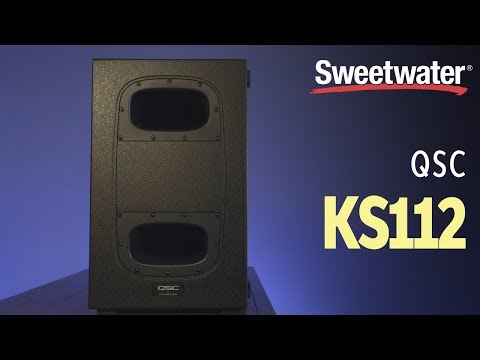 """QSC KS112 Powered 12"""" Subwoofer Review"""