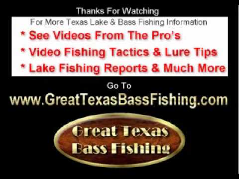 Lake Conroe Texas Bass Fishing, VIDEOS, Cabins For Rent