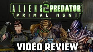 Aliens versus Predator 2: Primal Hunt Review