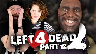 Left 4 Dead 2 PART 12 with Jules and Kirsten!