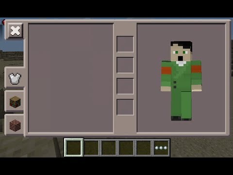 Minecraft PE Hitler Skin Costume YouTube - Skins para minecraft pe hitler