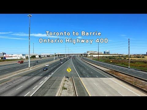 2017/08/14 - GTA to Barrie - Ontario Highway 400