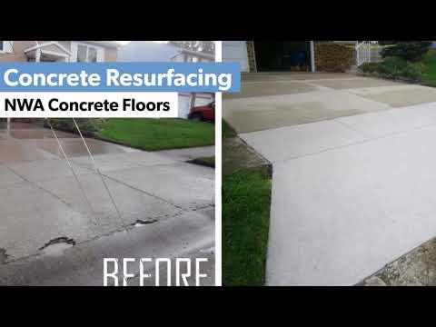 Concrete Resurfacing Northwest AR   (479) 439-4865