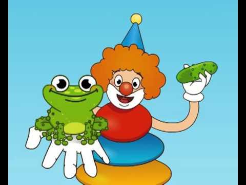 Развивающий мультфильм для детей от 3 месяцев.Радуга