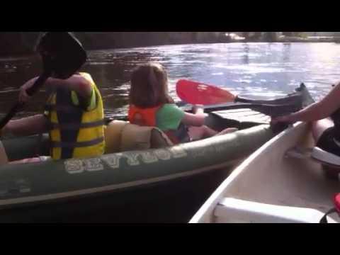 Chena River family float may 2013