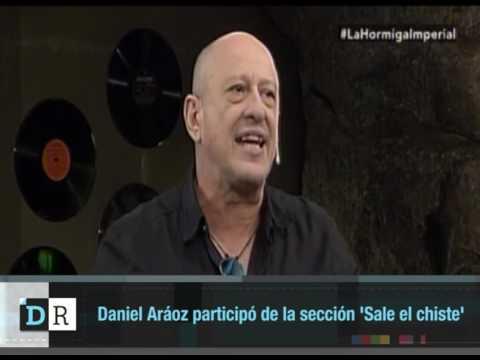 Daniel Aráoz participó de la sección Sale el chiste