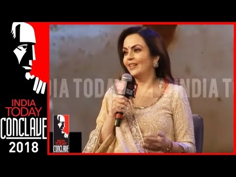 Nita Ambani: 'Sports & Education Greatest Equalisers For Youth' | India Today Conclave 2018
