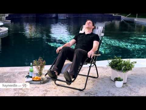 Coral Coast Zero Gravity Chair - Stripes - Product Review Video