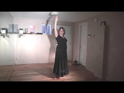 Flamenco Tango Choreography (Flamenco Dance Lesson)