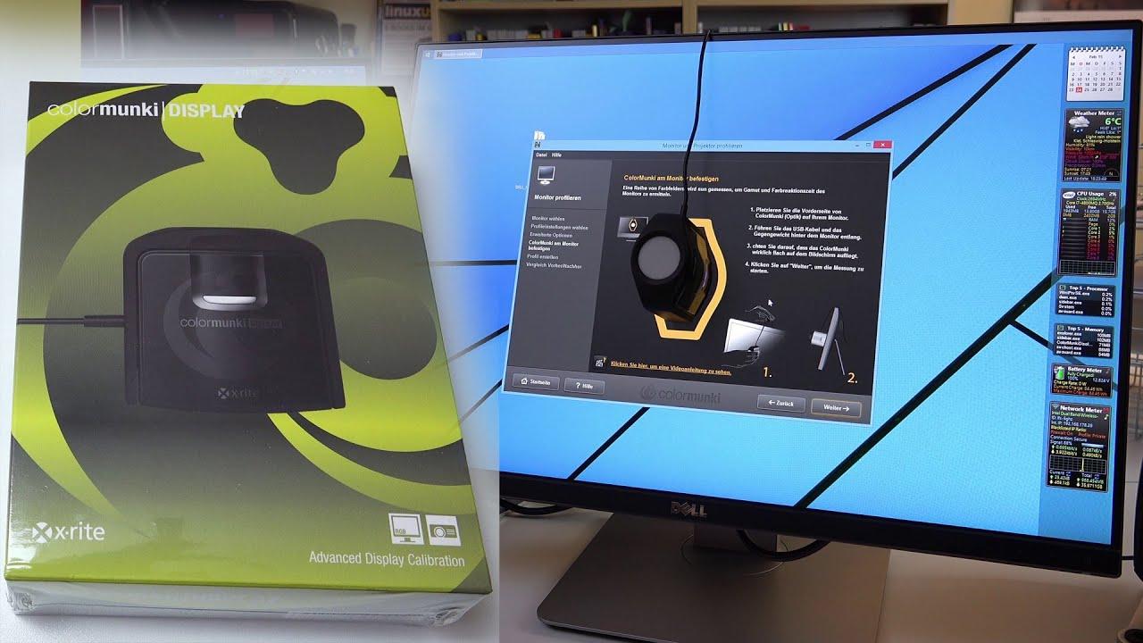 X-Rite ColorMunki Display - Das i1Display Pro Kolorimeter ...