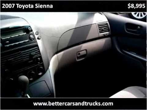 2007 Toyota Sienna Used Cars Port St. Lucie FL