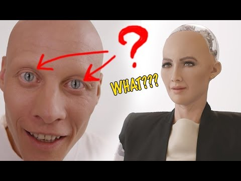 You won\'t Believe this Insane Robot Sophia\'s TRUE Origin... Hope u don\'t get scared after watching
