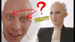 You won't Believe this Insane Robot Sophia's TRUE Origin... Hope u don't get scared a