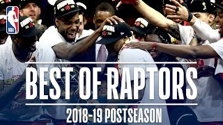 Best Plays From the Toronto Raptors | 2019 NBA Postseason